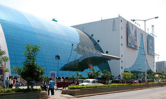 Cinema of India - Prasads IMAX Theatre located at Hyderabad, was the world's largest 3D-IMAX screen, and also the most attended screen in the world.