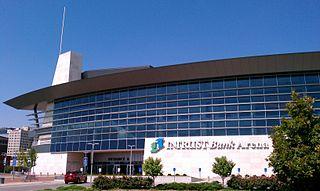 Intrust Bank Arena Multi-purpose arena in downtown Wichita, KS