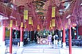 Incense coils in the Chinese temple in the Duong Thuong assembly Hall (31654220162).jpg