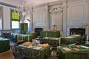 Constitutional Convention (United States) - Independence Hall's Assembly Room