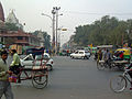 India - Delhi - 023 - The streets of Old Delhi outside the Red Fort (2130227496).jpg