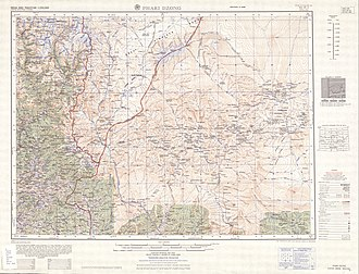 "Pagri - ""Phari Dzong"" sheet- topographic map printed by the US Army Map Service, Corps of Engineers, February, 1963"