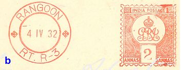 International Postage Meter Stamp Catalog/India - Wikibooks, open