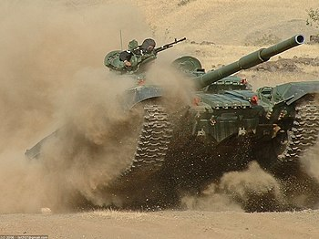 Indian Army Armoured Corps T-72 battle tank.jpg