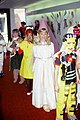 Indiana - Terre Haute - Hoosier Prairie Elementary School - Jessica a Princess for Halloween - October 1981.jpg