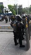 Indonesian riot police