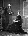 Infante Alfonso Carlos and his wife Maria das Neves of Braganza.jpg