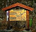 Information board on the parking place near to the Hivjufossen waterfall.jpg