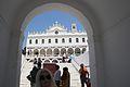 Inside area of pilgrimage basilica, Chora of Tinos 090790.jpg