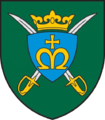 Insignia of the Lithuanian King Mindaugas hussar Battalion.png