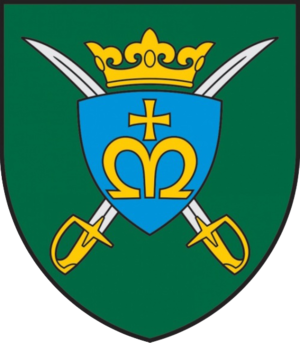 Mechanised Infantry Brigade Iron Wolf - Image: Insignia of the Lithuanian King Mindaugas hussar Battalion