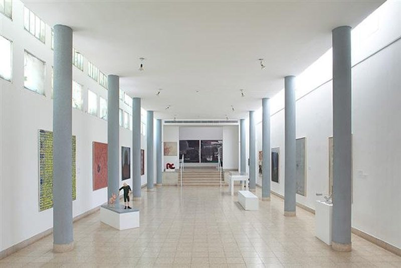 Installation in the hall of columns, 2010