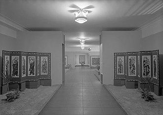 Shikō Munakata - Image: Installation view of Woodcut Screens of Shiko Munakata, January 9 February 18, 1968, Brooklyn Museum, NY 6