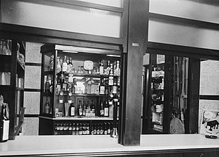 Interior of the Drover's Arms Hotel, Builth Wells
