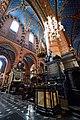Interior of St. Mary's Basilica in Kraków, Poland.jpg