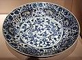 Iran piatto blu e bianco, dinastia savafide, xvii secolo.jpg