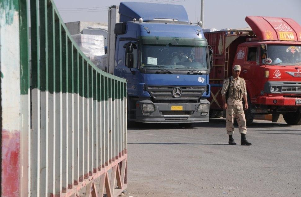 Iranian border to Iraq