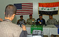 Iraqi, Coalition Leaders Discuss Security South of Baghdad DVIDS36971.jpg