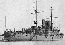 Italian battleship Regina Margherita ca. 1908.jpg