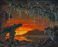 Ivan Fedorovich Choultsé - Maquette pour un Décor Grotte Arctique.jpg