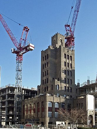 IVY Hotel + Residences - Image: Ivy Tower and construction