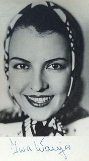 Iwa Wanja Bulgarian actress