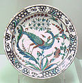 Iznik polychrome ware with animal late 16th early 17th century.jpg