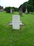 J.S. Smith Royal Flying Corps war grave, chapel side, Tredworth Road Cemetery, Gloucester.jpg