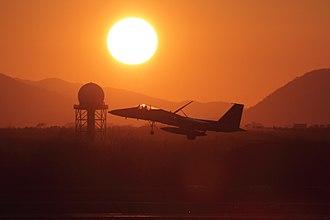 Mitsubishi F-15J - F-15J at Chitose Air Base (2010)