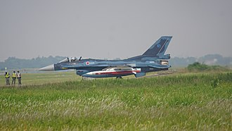 Mitsubishi F-2 - JASDF F-2 carries XASM-3 at Gifu air base May 2017