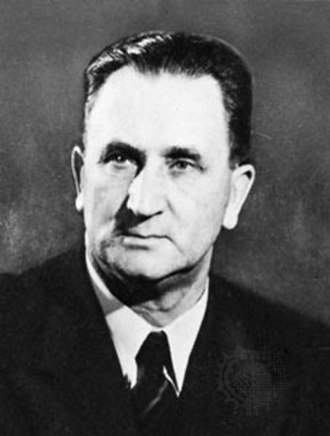 National Party (South Africa) - J. G. Strijdom, leader of the NP from 1953 until 1958