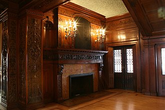 James J. Hill House - Image: JJHH Main Fireplace