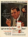 Jack Webb - Won't you join me. L&M smokes cleaner, 1958.jpg