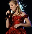 Jackie Evancho in Red Dress at Mandalay Bay (crop).jpg