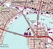 Jacksonville downtown bridges