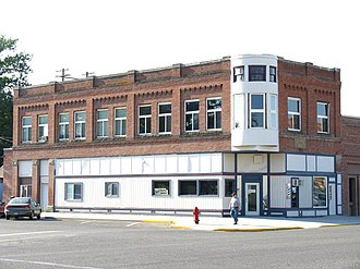 National Register of Historic Places listings in Payette County, Idaho - Image: Jacobsen Bldg 1908