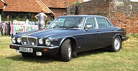 Jaguar XJ12 registered December 1986 5343cc.JPG