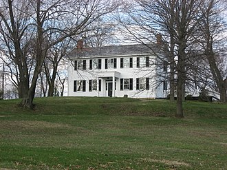 North Sewickley Township, Beaver County, Pennsylvania - James Beach Clow House (1830) National Register of Historic Places