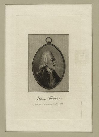 James Bowdoin - James Bowdoin, Governor of Massachusetts 1785 to 1787 (NYPL NYPG94-F149-419893)