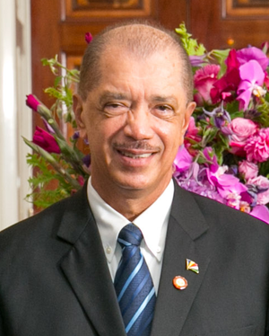 Vice-President of Seychelles - Image: James Michel 2014