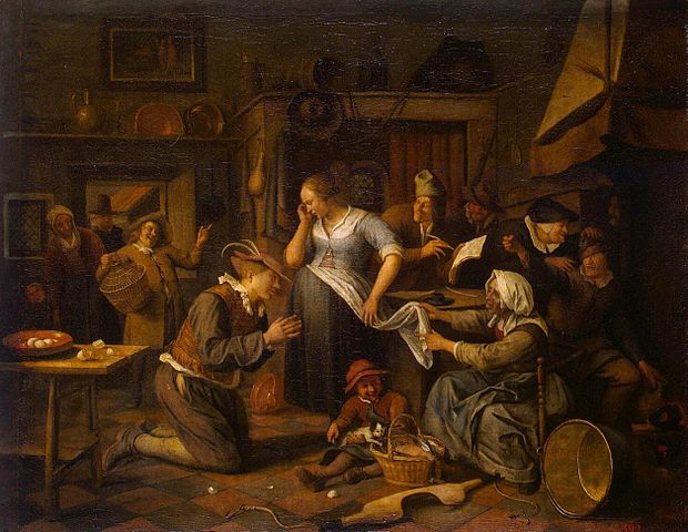File jan steen marriage contract for Artist mural contract