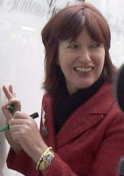 Janet Street-Porter, British media personality, journalist and broadcaster