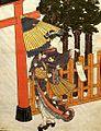 Japan Ukiyo-é Painting Lanterne et ombrelle 1770 Suzuki Harunobu (4801277693).jpg