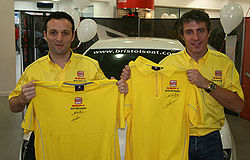 Darren Turner & Jason Plato, SEAT's 2008 BTCC drivers