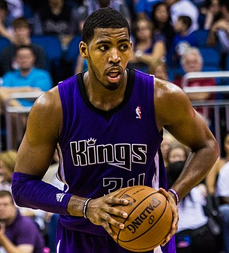 Jason Thompson (basketball) - Thompson with the Kings in 2013