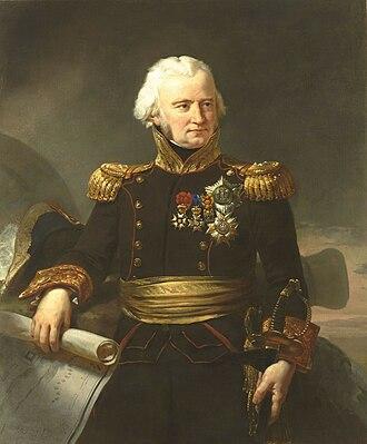 Jean Ambroise Baston de Lariboisière - Comte de Lariboisière, by Jean-Baptiste Mauzaisse (1784-1844)