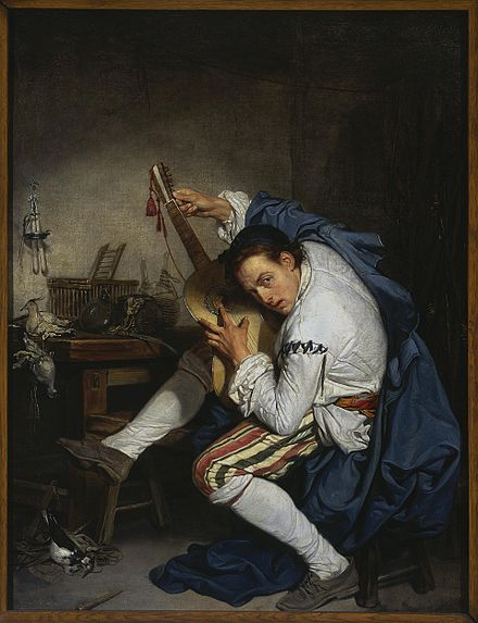 The Guitarist (1757), National Museum in Warsaw.