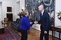 Jefa de Estado se reúne con el ministro de Transporte de Argentina en el marco del acuerdo del Túnel Agua Negra (30306438131).jpg