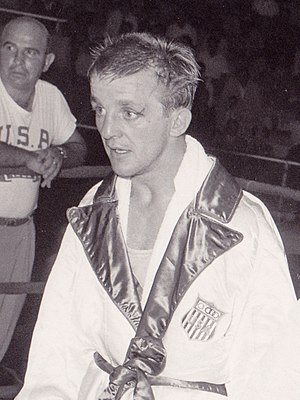 Jerry Armstrong - Jerry Armstrong at the 1960 Olympics