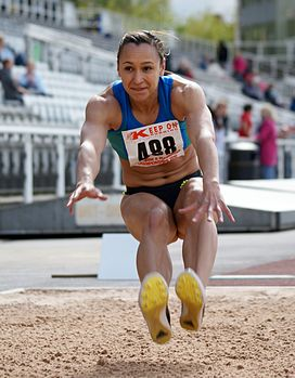 Jess Ennis - Yorkshire Track and Field Championships